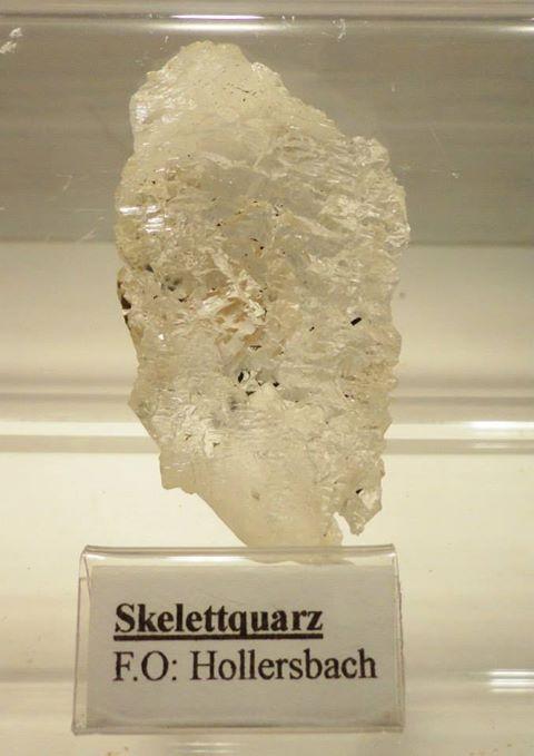 Skelettquarz aus dem Hollersbachtal-  7cm/5cm/3cm- VP €25,-